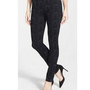 NYDJ Black Patterned Jeans Leggings